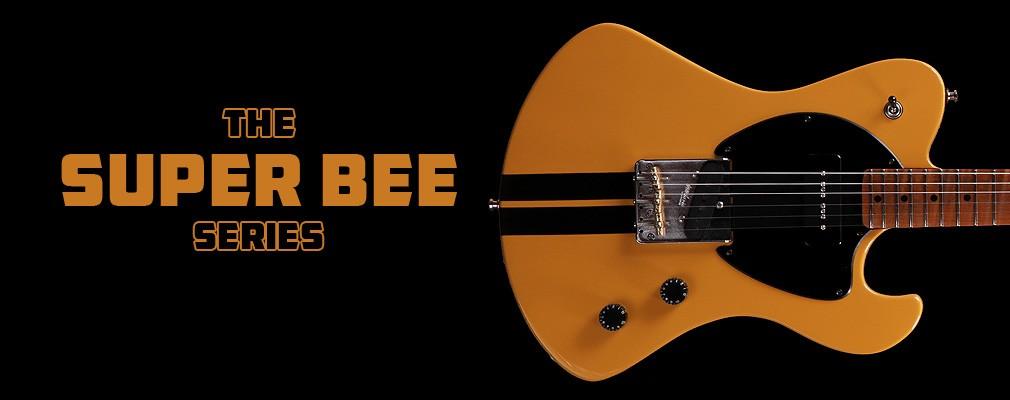 Potvin Guitars Super Bee Bahama yellow